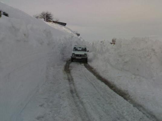 Дорога на Ай-Петри 24 марта 2009