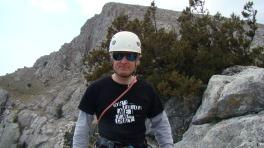 Юра Круглов на вершине