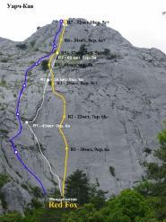 """Схема маршрута """"Междуболтие"""" и взаимное расположение относительно соседних маршрутов"""