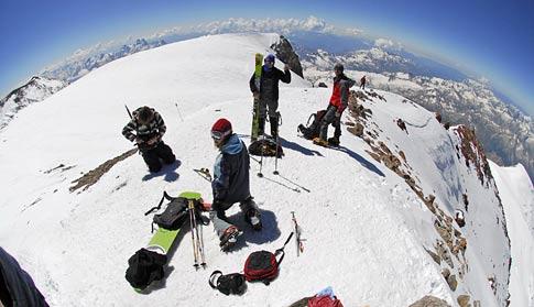 Мы на вершине. Фото Лехи Юркова (Капитан Воронин)