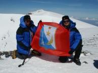 В. Варенин и А. Онищенко на вершине