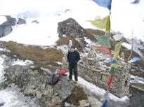 Юра Круглов на перевале Шиптона