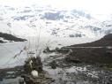 Замёрзшее озеро на нашем пути