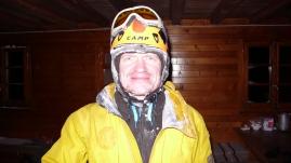 Андрей по возвращению в hutte