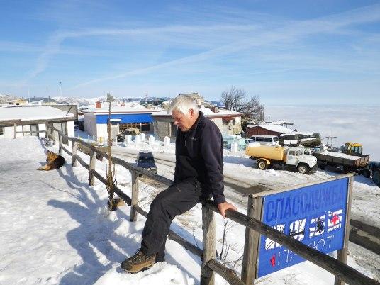 Валерий Лихачёв, Ай-Петри, январь 2011