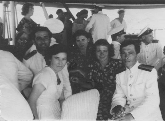 Справа: мои дедушка и бабушка - Яценко Павел Павлович и Серафима Викторовна