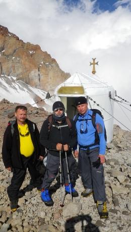 У церкви на высоте 4000 м.