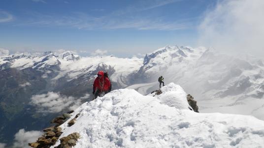 Владимир Ярославлев на последних метрах одиночного пути к вершине