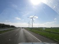 Скучные безгорные пейзажи Голландии