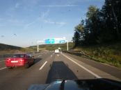 На подъезде к Вене