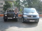 Начальник техподдержки автопробега по Киевсому региону Евгений Бруско