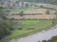 Tintern Abbey (11 век) на валлийской стороне реки Wye