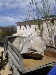 8,5 тонн известняка одним куском