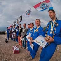 Призёры Petzl Crimea Rescue Fest 2012