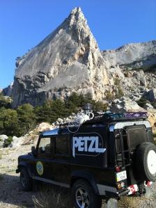 Место проведения Petzl Rescue Crimea Fest 2012 - скала Парус