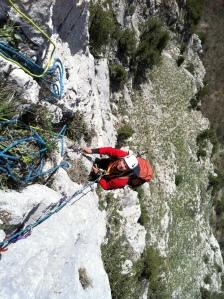 Пятая верёвка -  оказалась неожиданно сложнее, чем смотрелась снизу