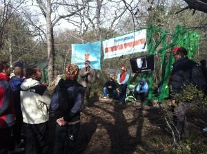 Открытие чемпионата Севастополя по альпинизму