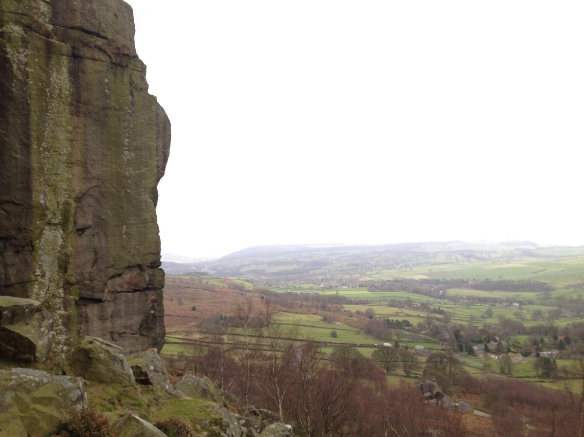 типичная панорама Peak District
