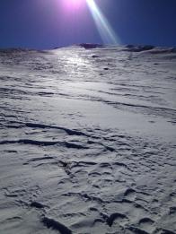 Заключительный подъём на Эклизи-Бурун