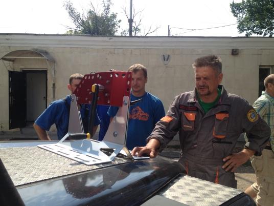 Новая лебёдка Kong Ortles от Федерации альпинизма и скалолазания Севастополя